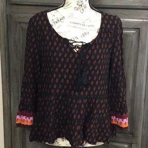Mudd boho blouse